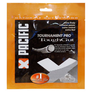 PACIFIC TOUGH GUT NATURAL TENNIS STRING 17G