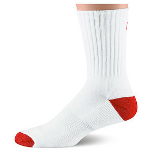 WILSON MENS COMFORT FIT CREW SOCK WHITE