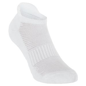 WILSON WOMENS COMFORT FIT PED. SOCK WHITE