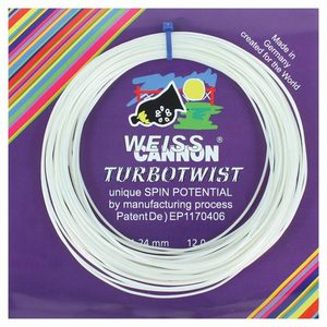 WEISS CANNON TURBOTWIST 17G TENNIS STRING