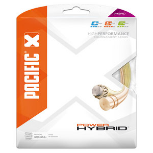 Power Hybrid 16L Tennis String
