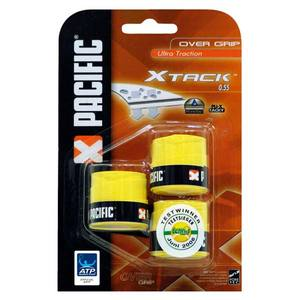 X Tack 3 Pack Yellow Tennis Overgrips