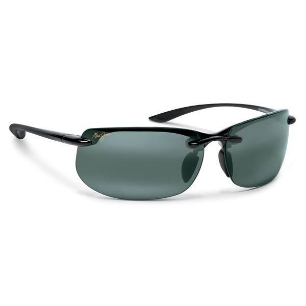 Maui Jim Banyans Sunglasses Gloss Black Neutral Grey