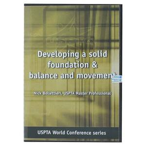 USPTA DEVELOPING A SOLID FOUNDATION TENNIS DVD