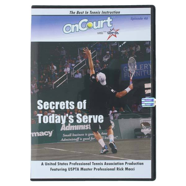 Secrets Of Today's Serve Tennis Dvd