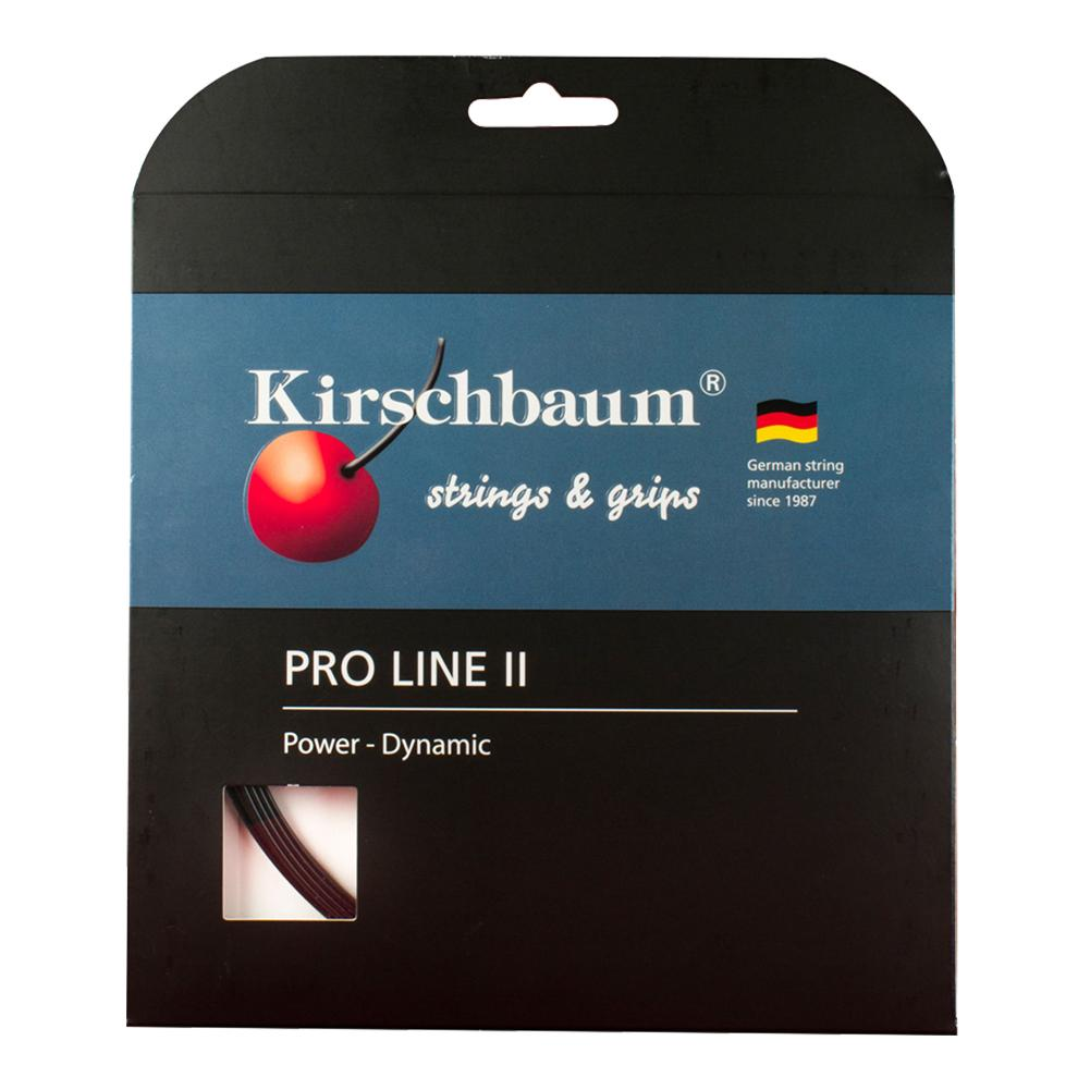 Pro Line Ii 1.25 Black Tennis String