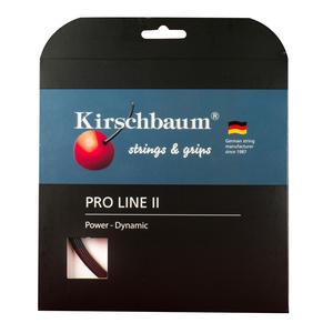 KIRSCHBAUM PRO LINE II 18G 1.15 BLACK TENNIS STRING