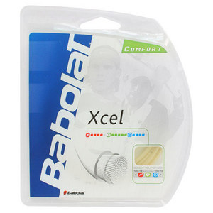 Xcel 17G Tennis String Natural