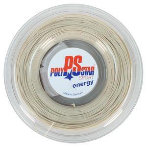 POLY STAR POLY STAR ENERGY 17G REEL TENNIS STRING