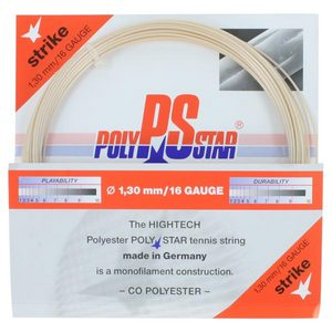 Poly Star Strike 16G Tennis String Natural