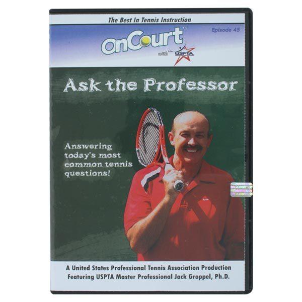 Ask The Professor Tennis Dvd