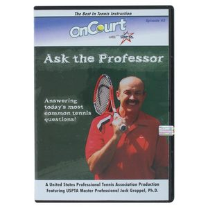 USPTA ASK THE PROFESSOR TENNIS DVD