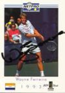NETPRO Wayne Ferreira Signed Mens Card