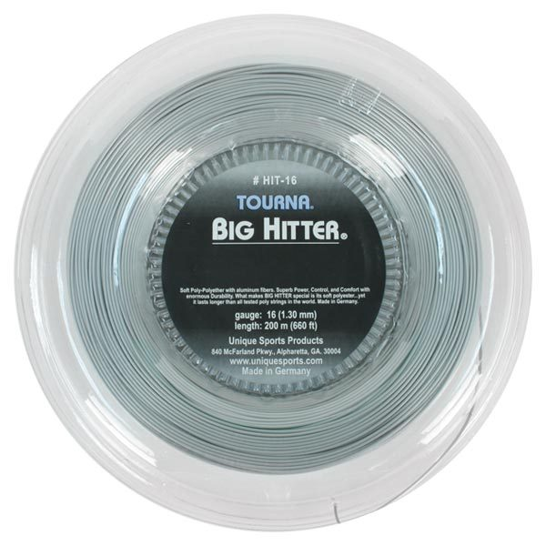 Big Hitter Silver 16g Reel Tennis String