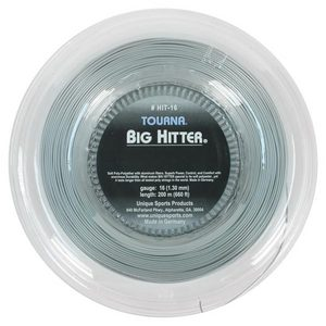 TOURNA BIG HITTER SILVER 16G REEL TENNIS STRING