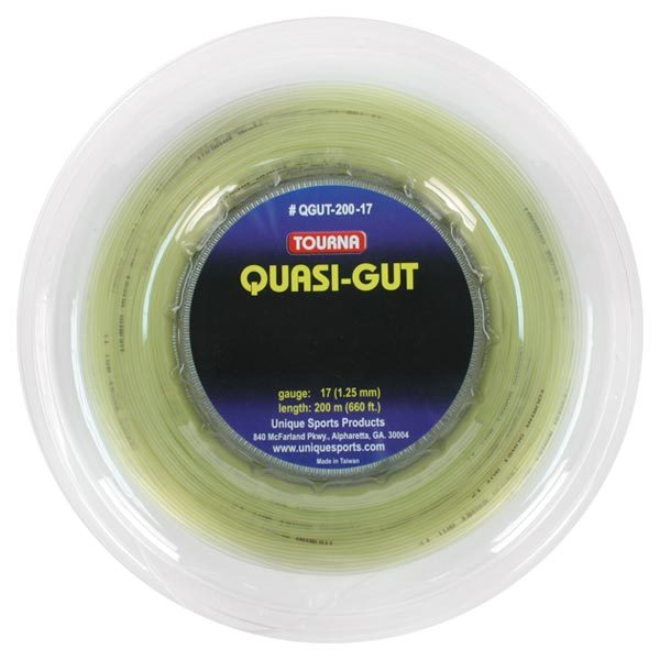 Tourna Quasi Gut 17g Reel Tennis String