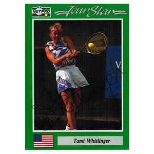 NETPRO TAMI WHITLINGER-JONES SIGNED CARD