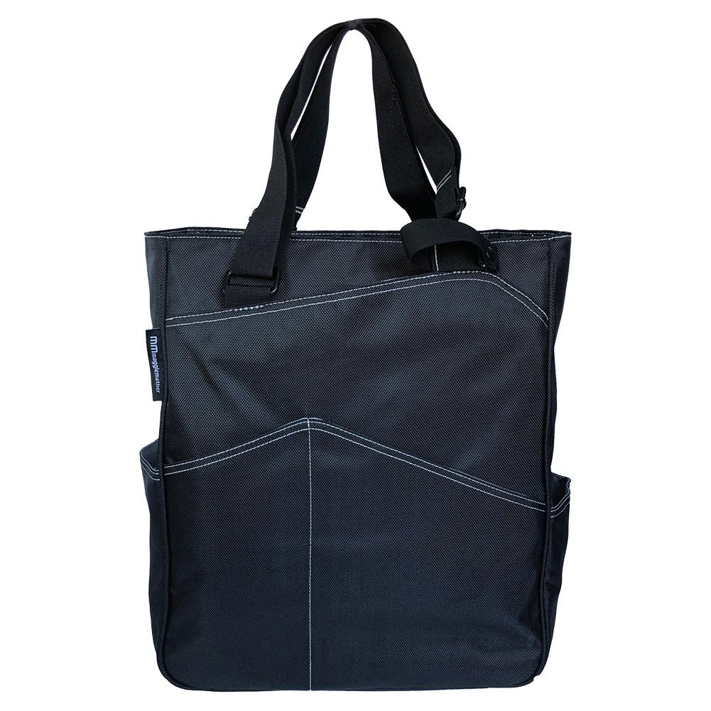 Maggie Mather Tennis Black Totes