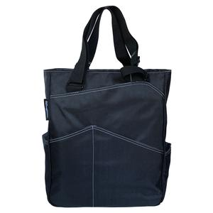 MAGGIEMATHER MAGGIE MATHER TENNIS BLACK TOTES