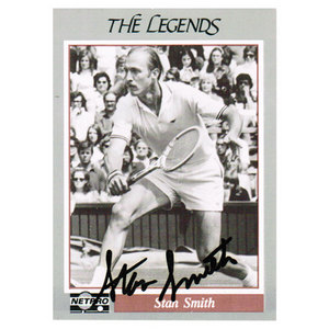 TENNIS EXPRESS STAN SMITH SIGNED LEGENDS CARD