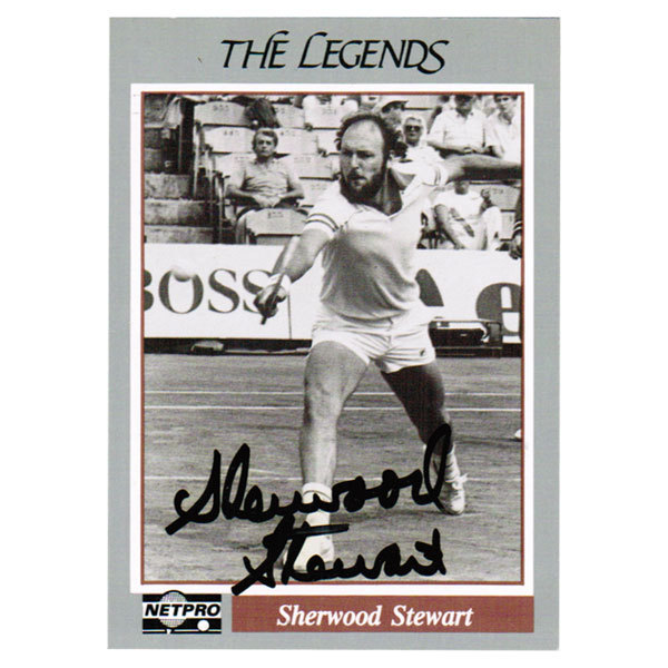 Sherwood Stewart Signed Legend