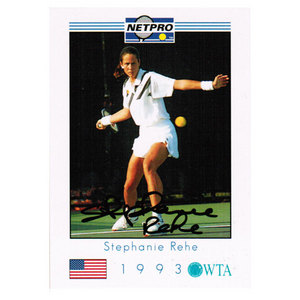 TENNIS EXPRESS STEPHANIE REHE SIGNED WOMENS