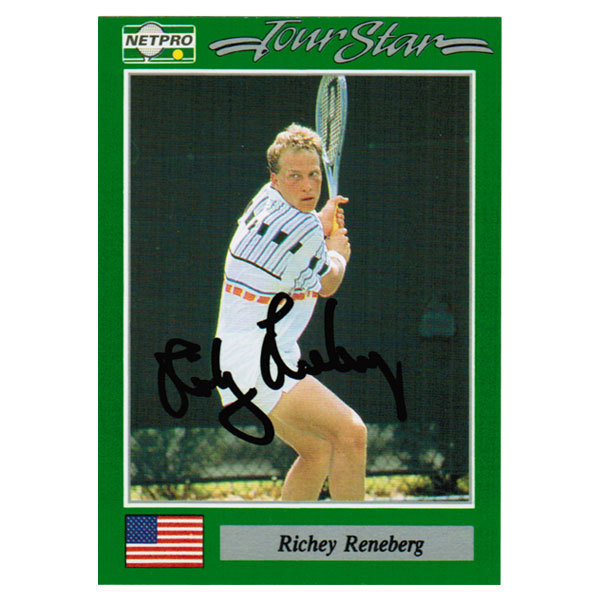 Richy Reneberg Signed Men's Card