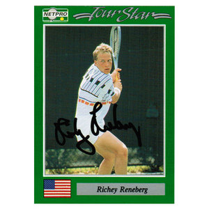 NETPRO RICHY RENEBERG SIGNED MENS CARD
