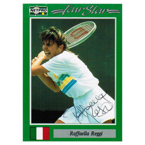 TENNIS EXPRESS RAFFAELLA REGGI SIGNED WOMENS
