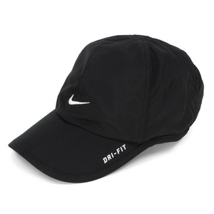 NIKE KIDS FEATHER LIGHT TENNIS CAP BLACK