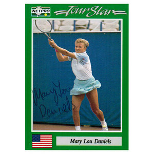 NETPRO MARY LOU DANIELS SIGNED WOMENS