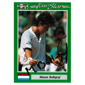 Manon Bollengraf Signed  Women`s