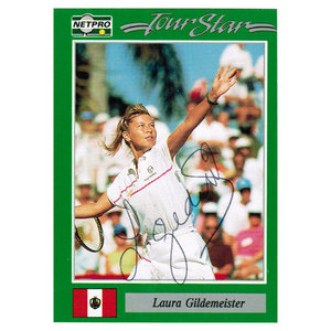 TENNIS EXPRESS LAURA GILDEMEISTER SIGNED WOMENS