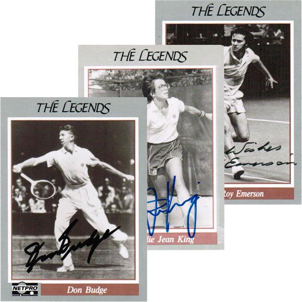 22 Autographed Legend Cards