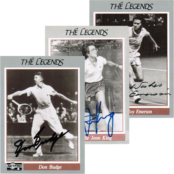 22 Autographed Legend Cards