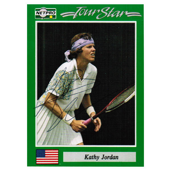Kathy Jordan Signed Women's Card