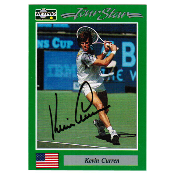 Kevin Curren Signed Men's Card