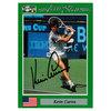 NETPRO Kevin Curren Signed Men`s Card