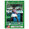 NETPRO Katrina Adams Signed  Women`s Card