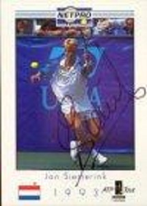 NETPRO Jan Siemerink Signed Mens Card