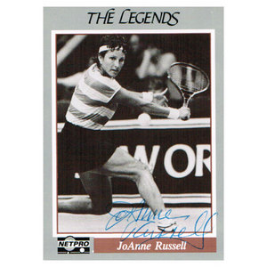 NETPRO JOANNE RUSSELL SIGNED LEGENDS
