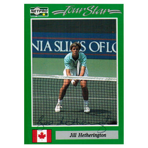 NETPRO JILL HETHERINGTON SIGNED WOMENS