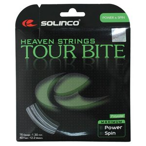 SOLINCO TOUR BITE 16G TENNIS STRING SILVER