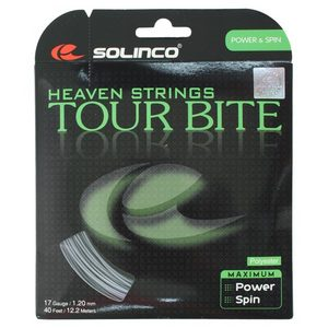 SOLINCO TOUR BITE 17G TENNIS STRING SILVER