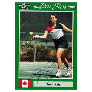 Helen Kelesi Signed  Women`s Card