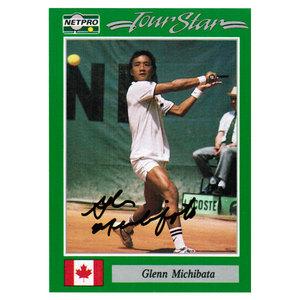 Glenn Michibata Signed  Men`s Card