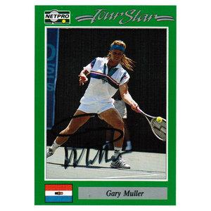 Gary Muller Signed  Men`s Card