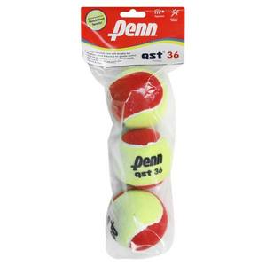 PENN PENN QST 36 FELT 3 TENNIS BALLS