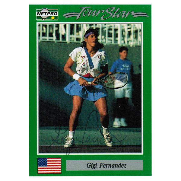 Gigi Fernandez Hand Signed Women