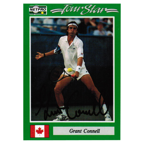 Grant Connel Signed Men's Card